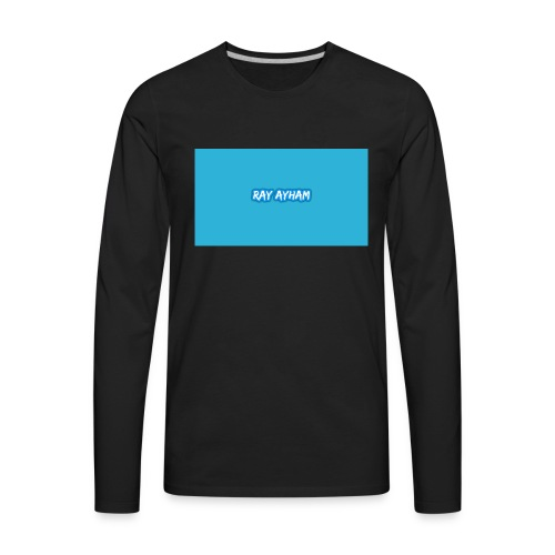 Ray Ayham - Men's Premium Long Sleeve T-Shirt