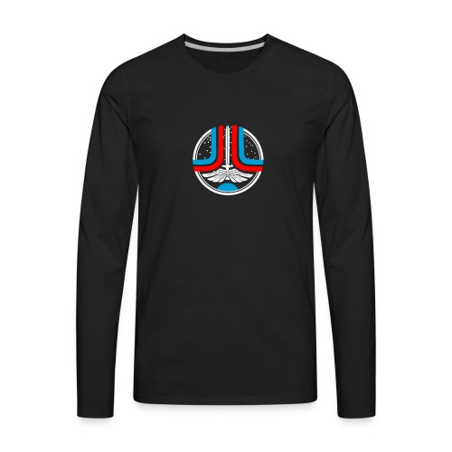 welcome starfighter - Men's Premium Long Sleeve T-Shirt