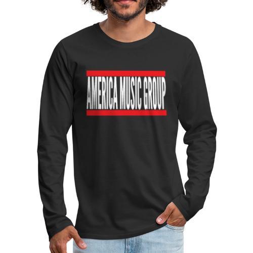 AmericaMusicGroup Shop - Men's Premium Long Sleeve T-Shirt