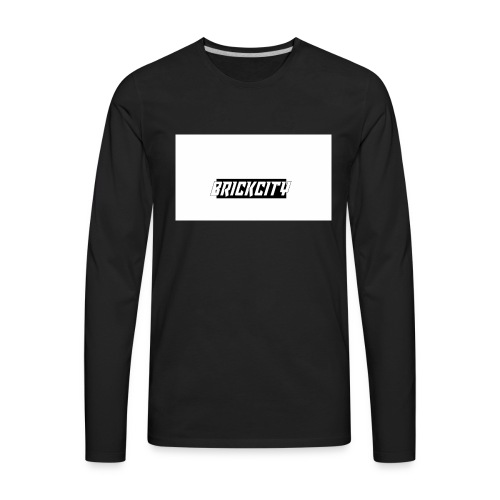 Brickcity Box Logo - Men's Premium Long Sleeve T-Shirt
