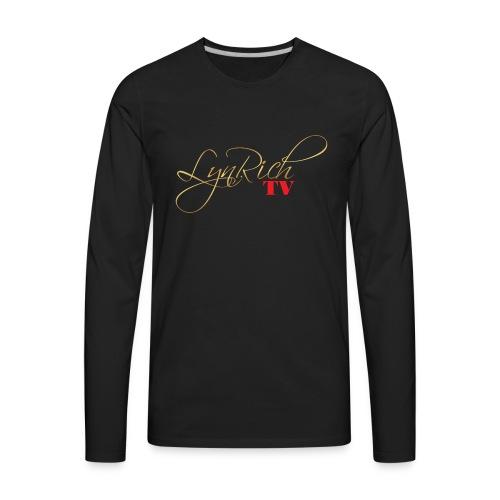 LynRichTV Apparel - Men's Premium Long Sleeve T-Shirt