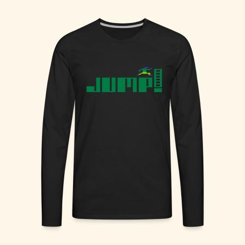 Jump! - Men's Premium Long Sleeve T-Shirt