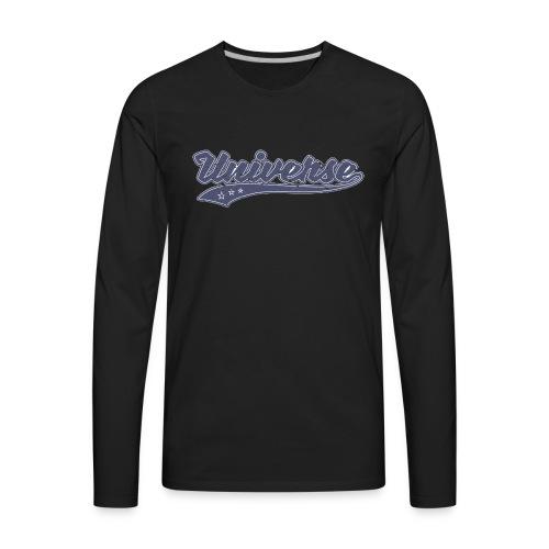 Universe (Retro Color) - Men's Premium Long Sleeve T-Shirt