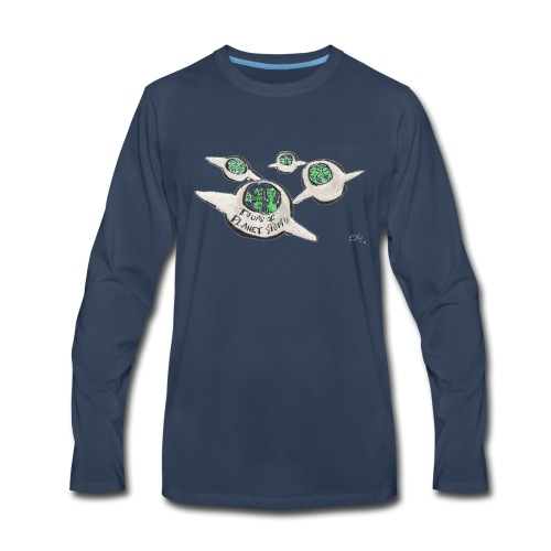 Tours of Planet Stupid - Men's Premium Long Sleeve T-Shirt