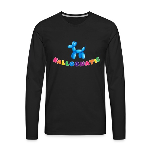 Balloon Animal Balloonatic - Men's Premium Long Sleeve T-Shirt