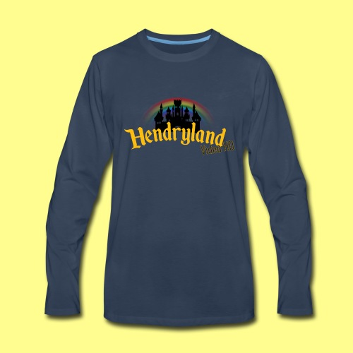 HENDRYLAND logo Merch - Men's Premium Long Sleeve T-Shirt