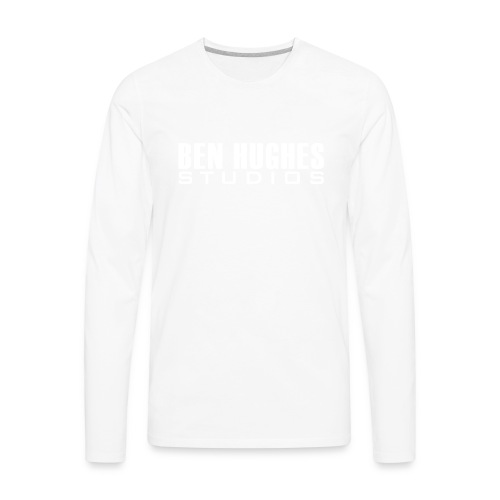 Ben Hughes LOGO png - Men's Premium Long Sleeve T-Shirt