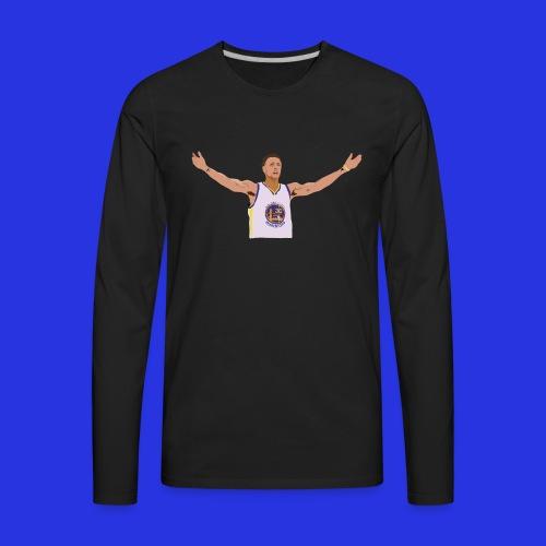 Steph Curry - Men's Premium Long Sleeve T-Shirt