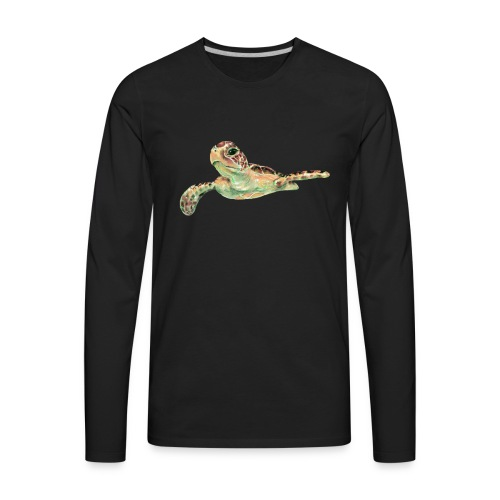 Sea turtle - Men's Premium Long Sleeve T-Shirt