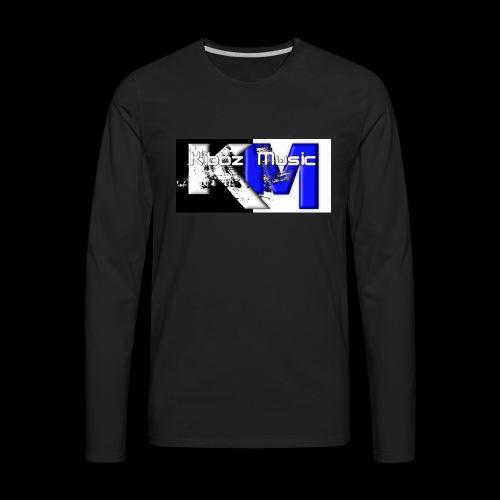 Kibbz Music - Men's Premium Long Sleeve T-Shirt