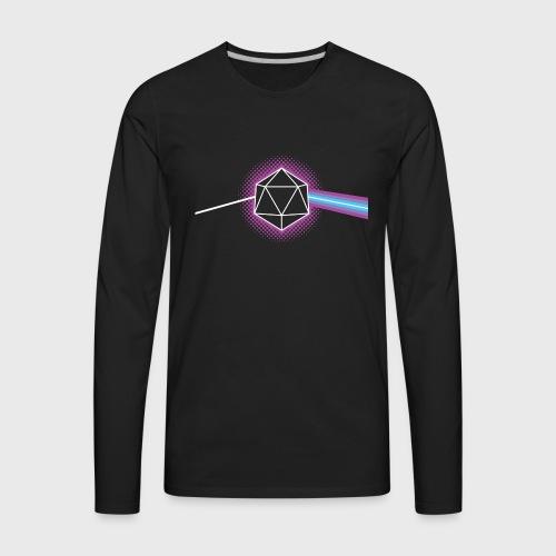 Dungeons and Dragons d20 - Men's Premium Long Sleeve T-Shirt