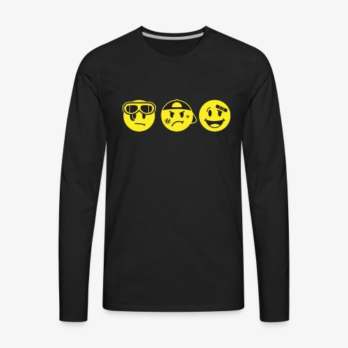 The Goons Logo - Men's Premium Long Sleeve T-Shirt