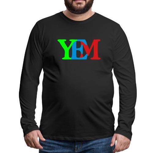 YEMpolo - Men's Premium Long Sleeve T-Shirt