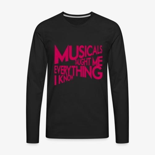 MTMEIK Pink Logo - Men's Premium Long Sleeve T-Shirt