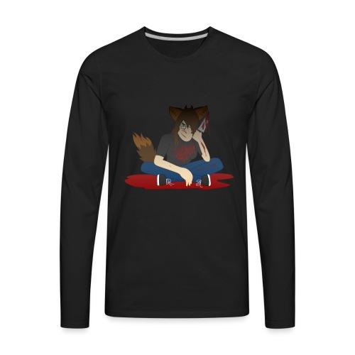 KR ASMR Murderer Kiba - Men's Premium Long Sleeve T-Shirt