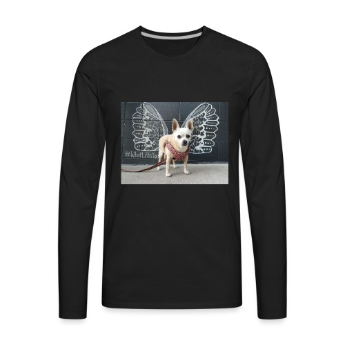 What Lifts You - Men's Premium Long Sleeve T-Shirt
