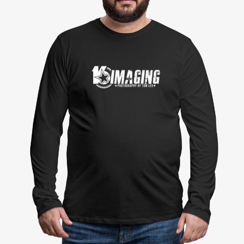 16IMAGING Horizontal White - Men's Premium Long Sleeve T-Shirt