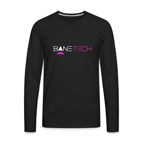 Transparent Bane Tech - Men's Premium Long Sleeve T-Shirt
