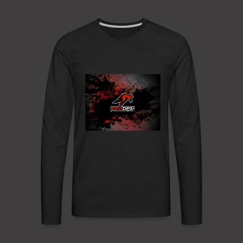 RedOpz Splatter - Men's Premium Long Sleeve T-Shirt