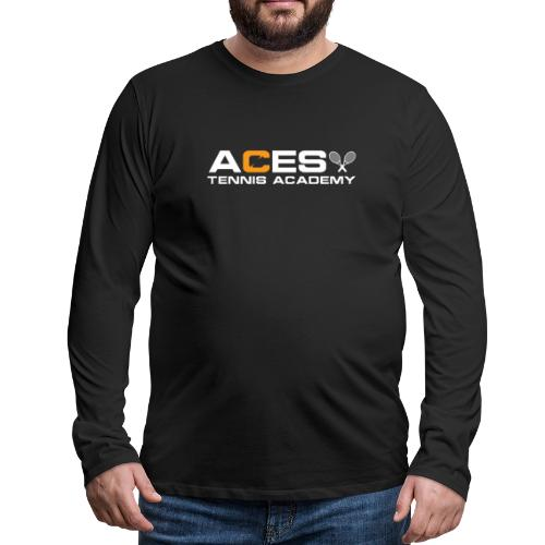 Aces Throwback - Men's Premium Long Sleeve T-Shirt