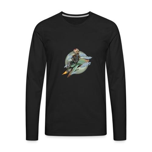 d9 - Men's Premium Long Sleeve T-Shirt