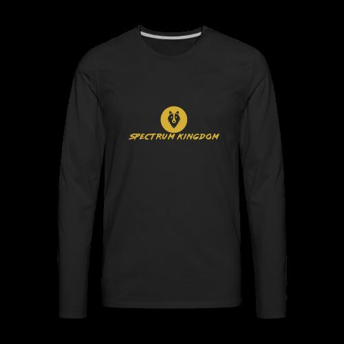 Spectrum Kingdom Gold Logo - Men's Premium Long Sleeve T-Shirt