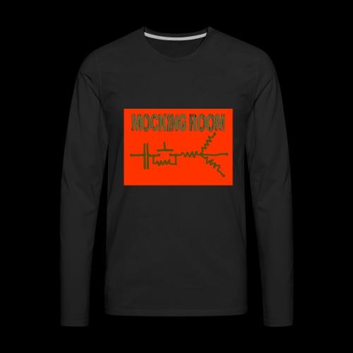 BID RED CAMO - Men's Premium Long Sleeve T-Shirt