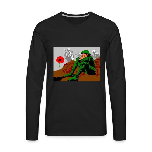 ANZAC - Men's Premium Long Sleeve T-Shirt
