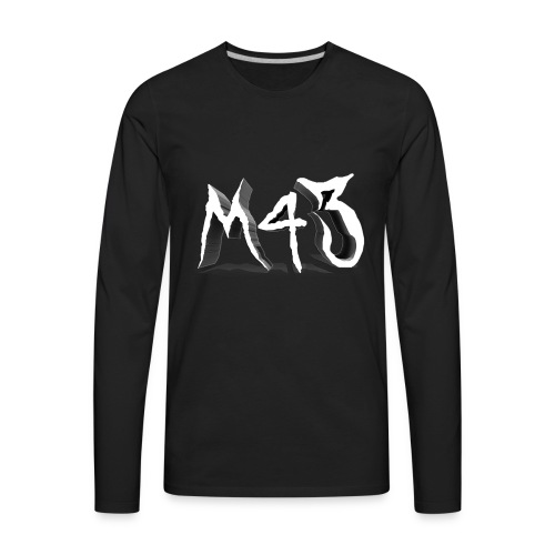 M43 Logo 2018 - Men's Premium Long Sleeve T-Shirt