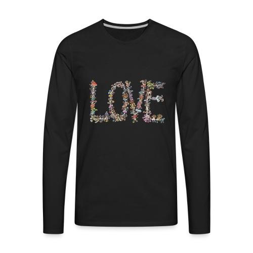 MUSHROOM LOVE - Men's Premium Long Sleeve T-Shirt