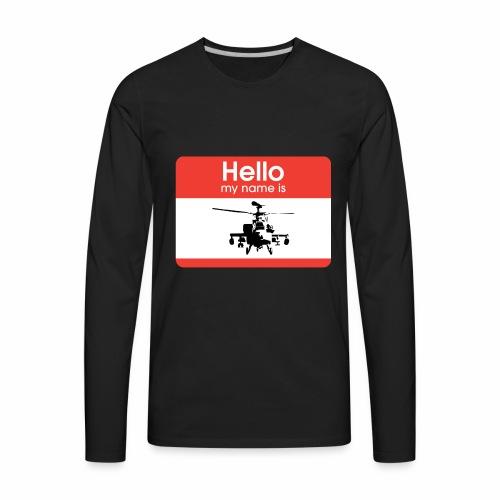 Apache is the name - Men's Premium Long Sleeve T-Shirt