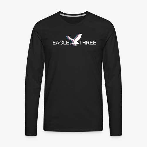 EAGLE THREE APPAREL - Men's Premium Long Sleeve T-Shirt