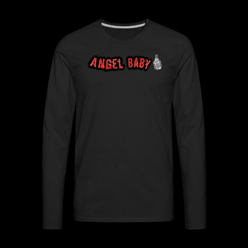 AngelBabyMusic Logo - Men's Premium Long Sleeve T-Shirt
