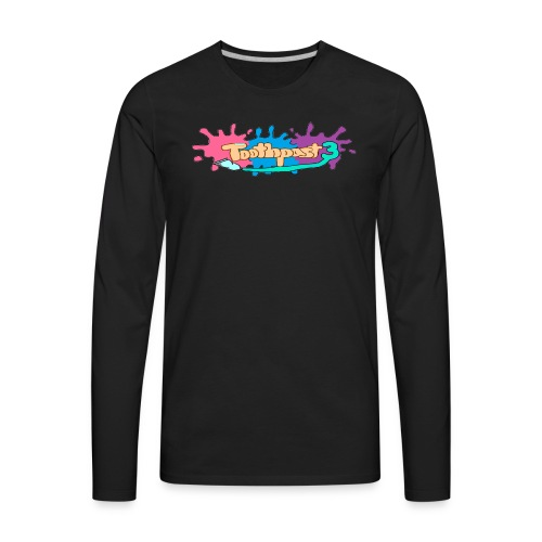 Toothpast3 Merch - Men's Premium Long Sleeve T-Shirt