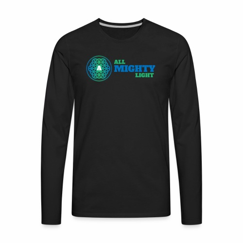 ALL MIGHTY LIGHT - Men's Premium Long Sleeve T-Shirt
