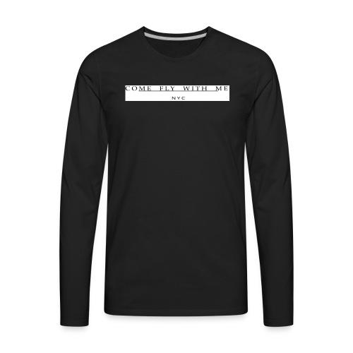 REV WHITE - Men's Premium Long Sleeve T-Shirt