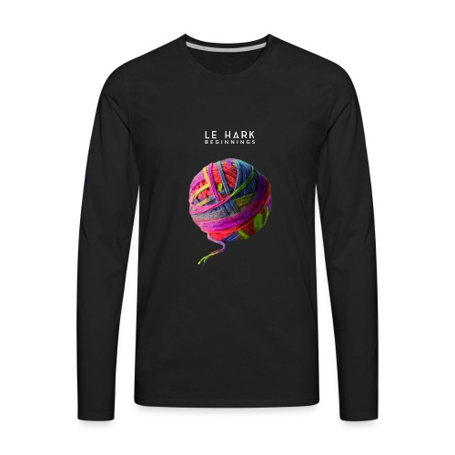 Album Art Le Hark Beginnings - Men's Premium Long Sleeve T-Shirt