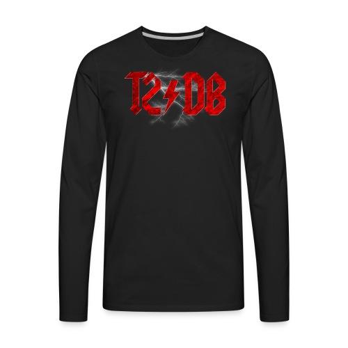 T2/DB AC/DC Style - Men's Premium Long Sleeve T-Shirt