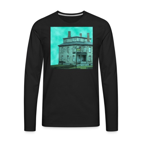 The Long Road Cover (House Only) - Men's Premium Long Sleeve T-Shirt