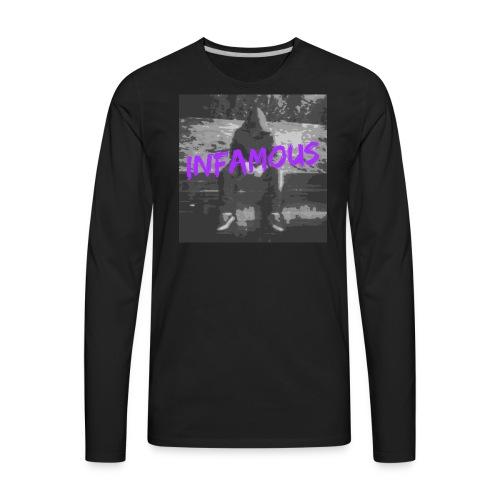 Infamous Official Logo - Men's Premium Long Sleeve T-Shirt