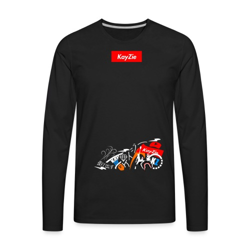 'Supreme KayZie' - Men's Premium Long Sleeve T-Shirt