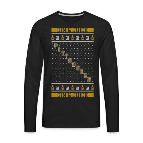 gin n juice - Men's Premium Long Sleeve T-Shirt