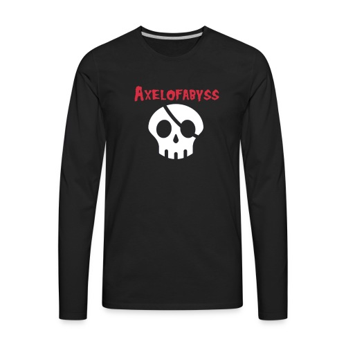 Skull pirate - Men's Premium Long Sleeve T-Shirt
