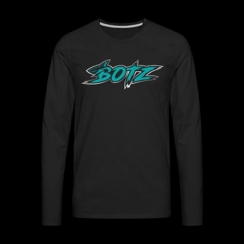 BOTZ Teal Logo - Men's Premium Long Sleeve T-Shirt
