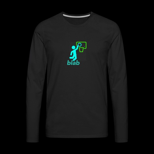 blab - Men's Premium Long Sleeve T-Shirt