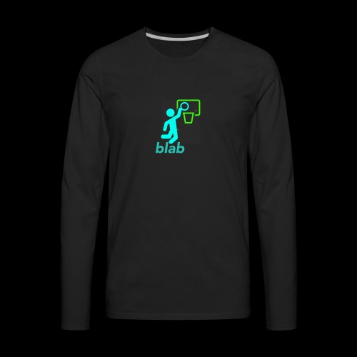 blab - Men's Premium Long Sleeve T-Shirt