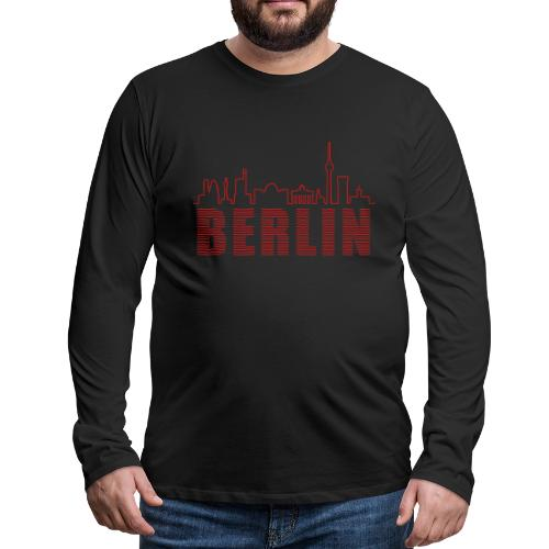 Skyline of Berlin - Men's Premium Long Sleeve T-Shirt