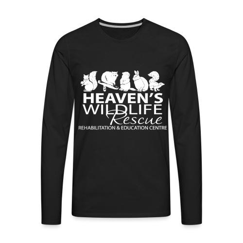HWR White - Men's Premium Long Sleeve T-Shirt