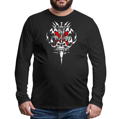 X Skull - Men's Premium Long Sleeve T-Shirt