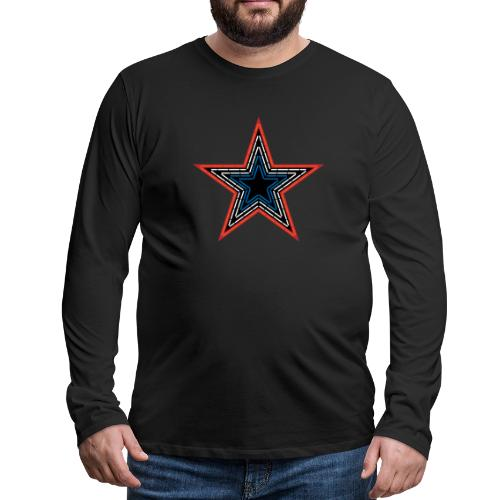 Roanoke Virginia Pride Mill Mountain Star - Men's Premium Long Sleeve T-Shirt